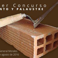 """I Concurso de Albañilería """"Cemento y Palaustre""""."""