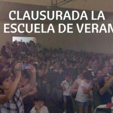 Clasurada la VI Escuela de Verano.