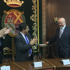 Juan Eslava Galán, Medalla de Oro de la Ciudad de Arjona.