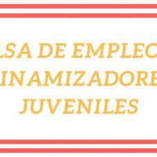Bolsa de Empleo de dinamizadores/as juveniles.