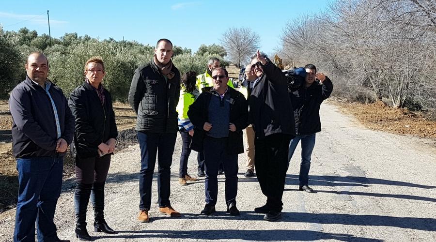 Diputación inicia la adecuación de la carretera entre Arjona y Lopera con un presupuesto de casi un millón de euros