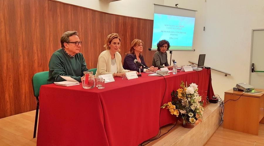 Presentada la Memoria del centro comarcal de Servicios Sociales de Arjona.