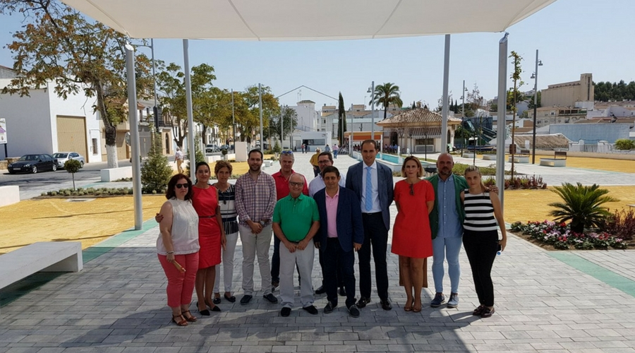 La remodelación del Paseo de Andalucía, inaugurada.