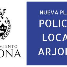 Convocada una nueva plaza de Policía Local en Arjona.
