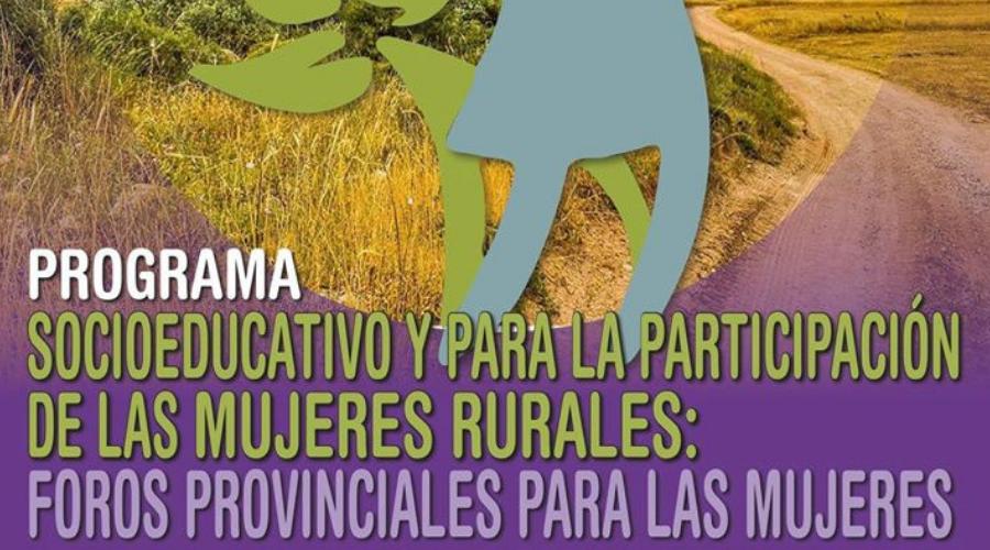 """Hoy, comienza el curso gratuito y homologado titulado """"Programa socioeducativo y para la participación de las mujeres rurales""""."""