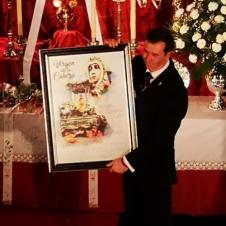 GABRIEL SOLA SEGOVIA OFRECE A LA MORENITA SU CARIÑO EN UN PREGÓN MUY POPULAR