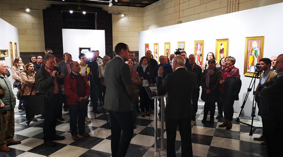 """Inaugurada la exposición de Juan Méjica """"Iconografía de la fe"""""""