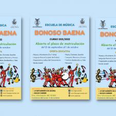 """MATRÍCULA ESCUELA DE MÚSICA """"BONOSO BAENA"""""""